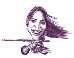 artist caricaturist Liana Oprea