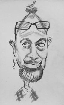 caricatură individuală