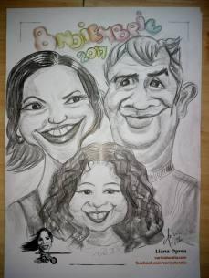 caricatură de grup